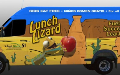 Second Lunch Lizard Food Truck serving Clifton to Launch