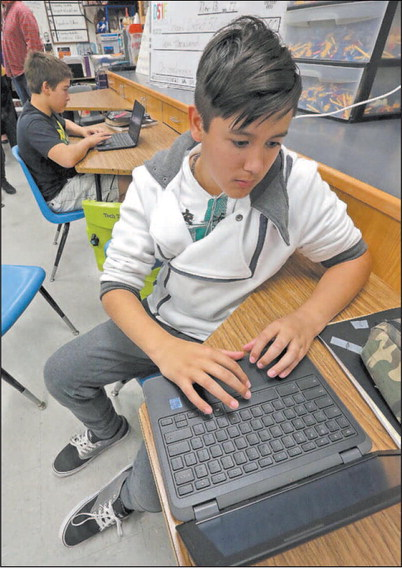 Several D51 schools given dozens of new Chromebooks