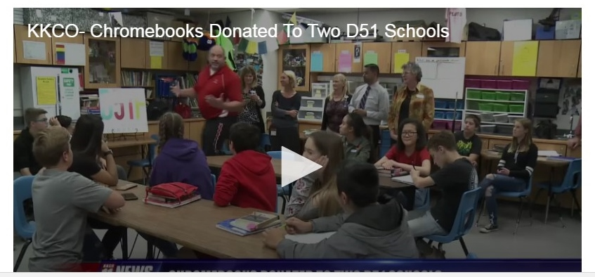 D51 schools get new laptops in honor of former superintendent