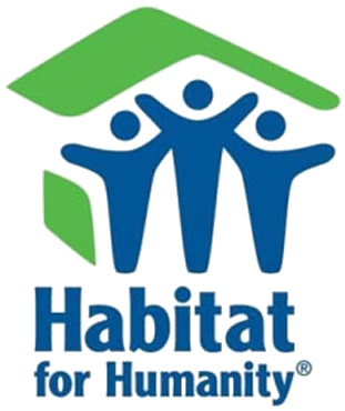 Habitat for Humanity Logo - Click here to learn more about the organization