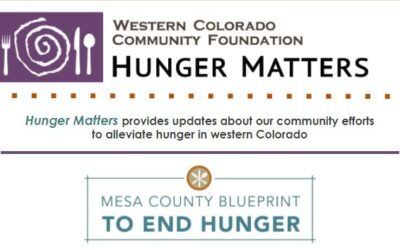 Check out our New Newsletter: Hunger Matters!