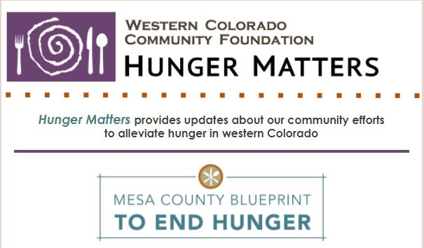 Hunger Matters First Issue